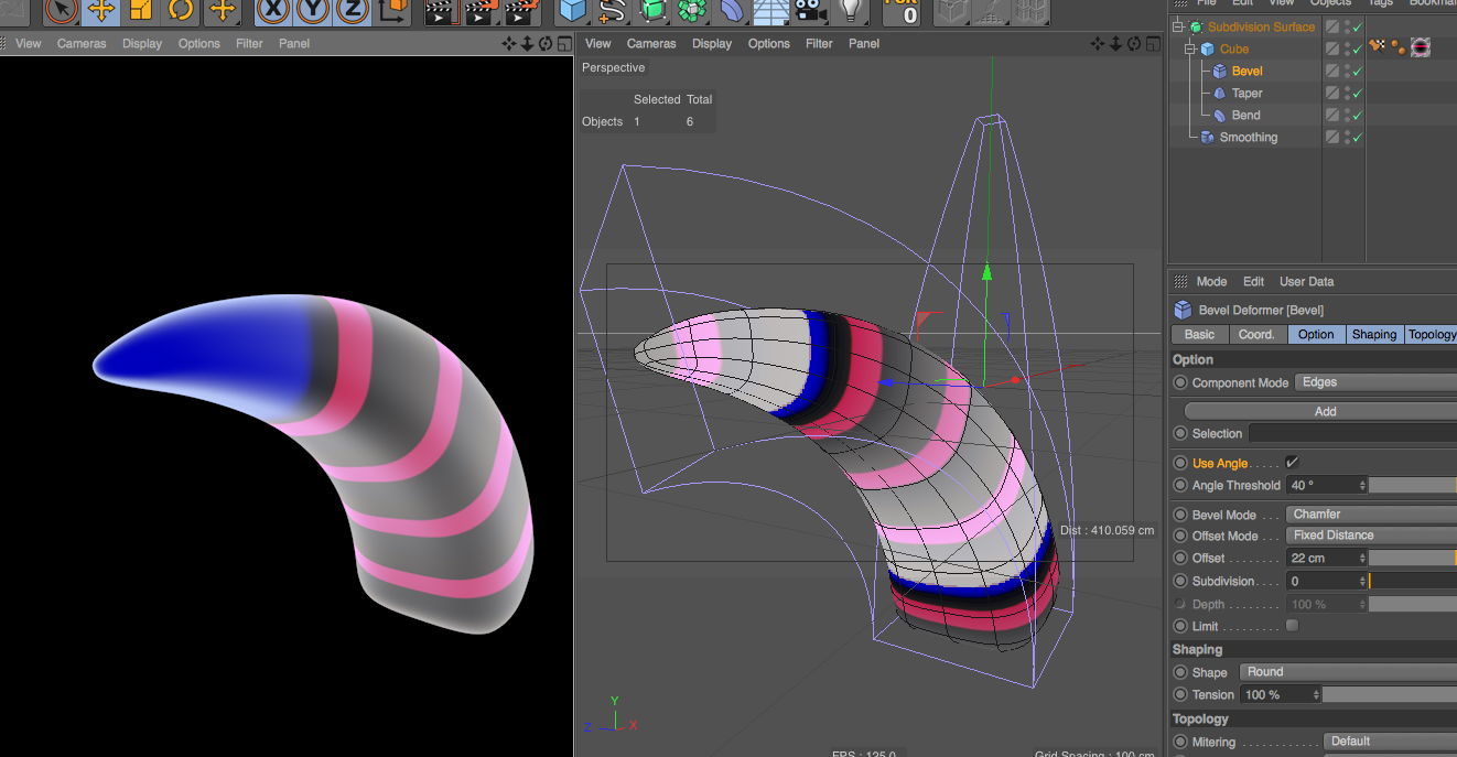 Tips on how to make these tentacles? : Cinema4D